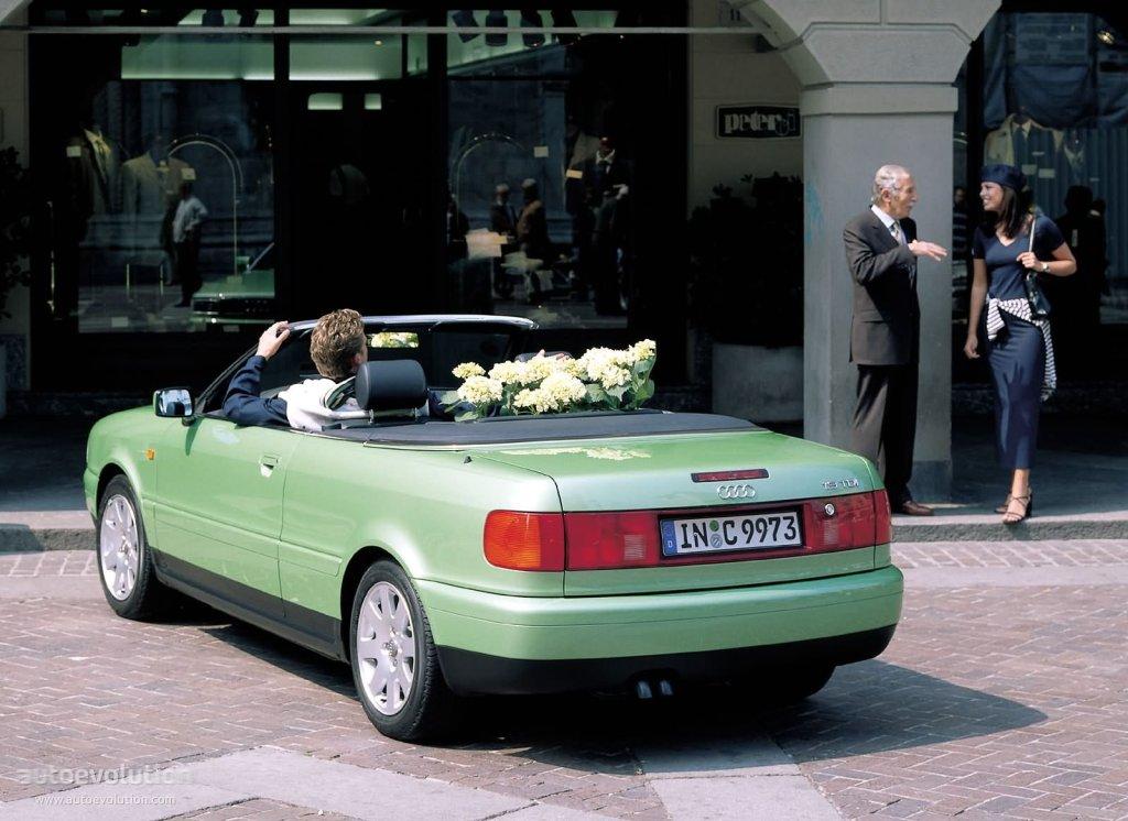 AUDI Cabriolet specs & photos - 1991, 1992, 1993, 1994 ...