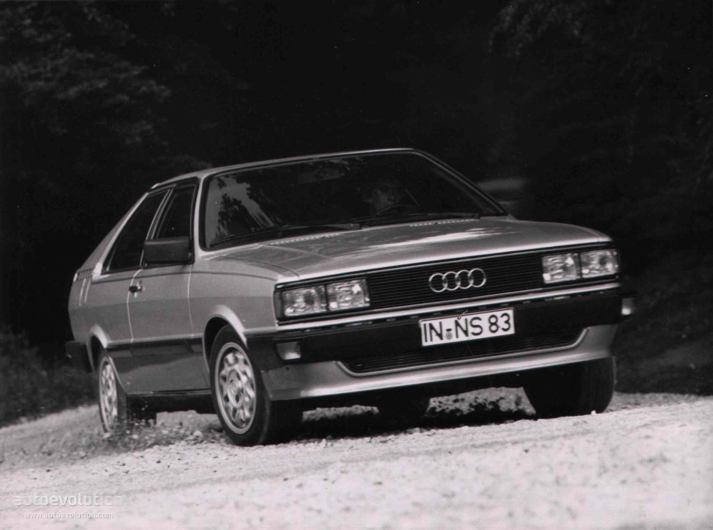 Audi Coupe 1981 1982 1983 1984 1985 1986 1987