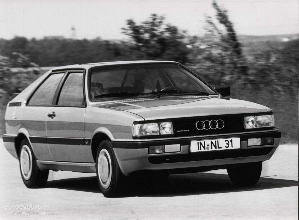 AUDI Coupe specs  1981 1982 1983 1984 1985 1986 1987 1988