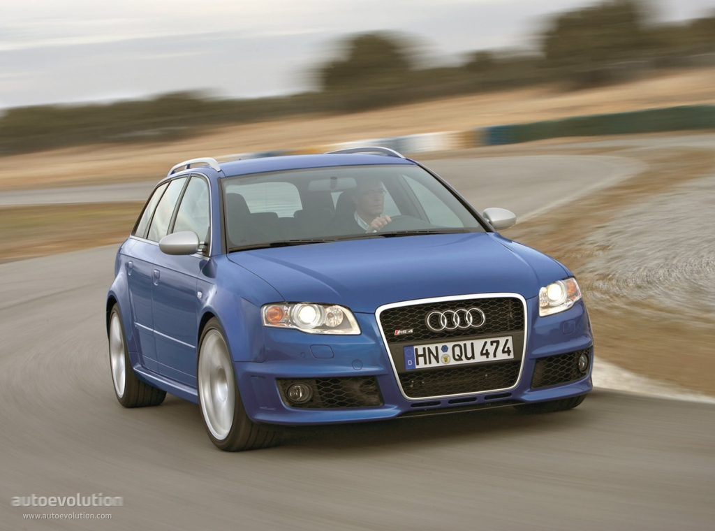 audi rs4 avant 2006 2007 2008 autoevolution. Black Bedroom Furniture Sets. Home Design Ideas