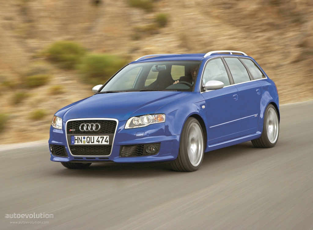 audi rs4 avant specs 2006 2007 2008 autoevolution. Black Bedroom Furniture Sets. Home Design Ideas