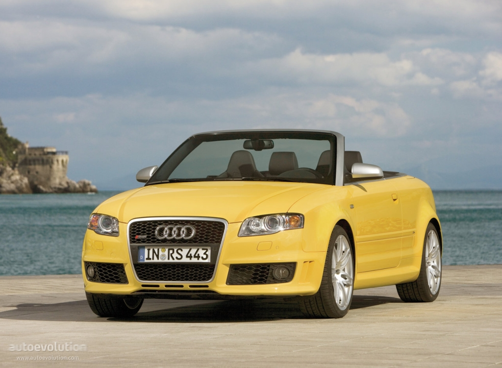 audi rs4 cabriolet specs 2006 2007 2008 2009 autoevolution. Black Bedroom Furniture Sets. Home Design Ideas