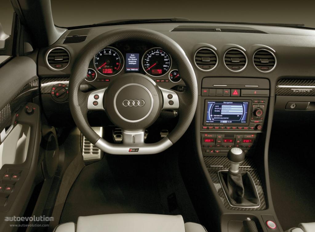 Audi Rs4 Cabriolet Specs 2006 2007 2008 2009