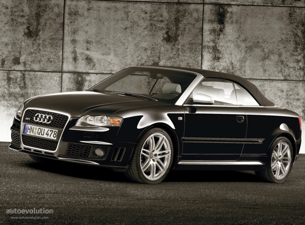 audi rs4 cabriolet 2006 2007 2008 2009 autoevolution. Black Bedroom Furniture Sets. Home Design Ideas
