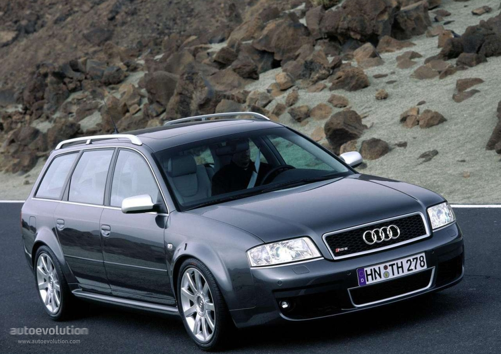 Audi Rs6 Avant 2002 2003 2004 Autoevolution