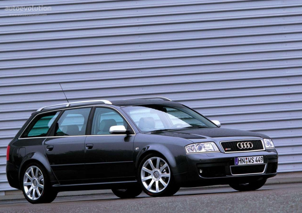 Audi Rs6 Avant 2002 2003 2004 Autoevolution