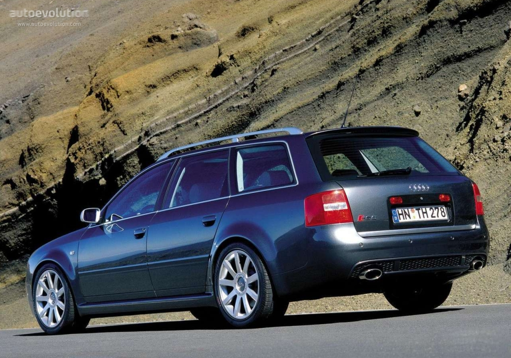 Audirs Avant on Datsun V8 Engine