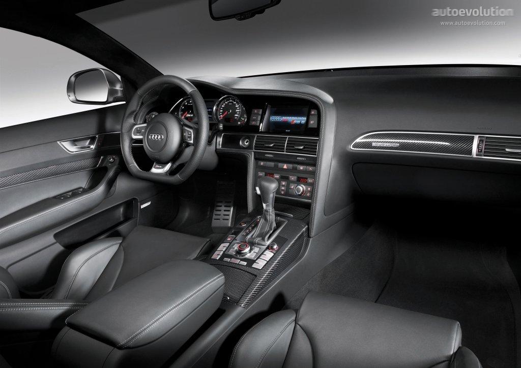 Audi rs6 sedan specs 2008 2009 2010 autoevolution for Interieur limousine