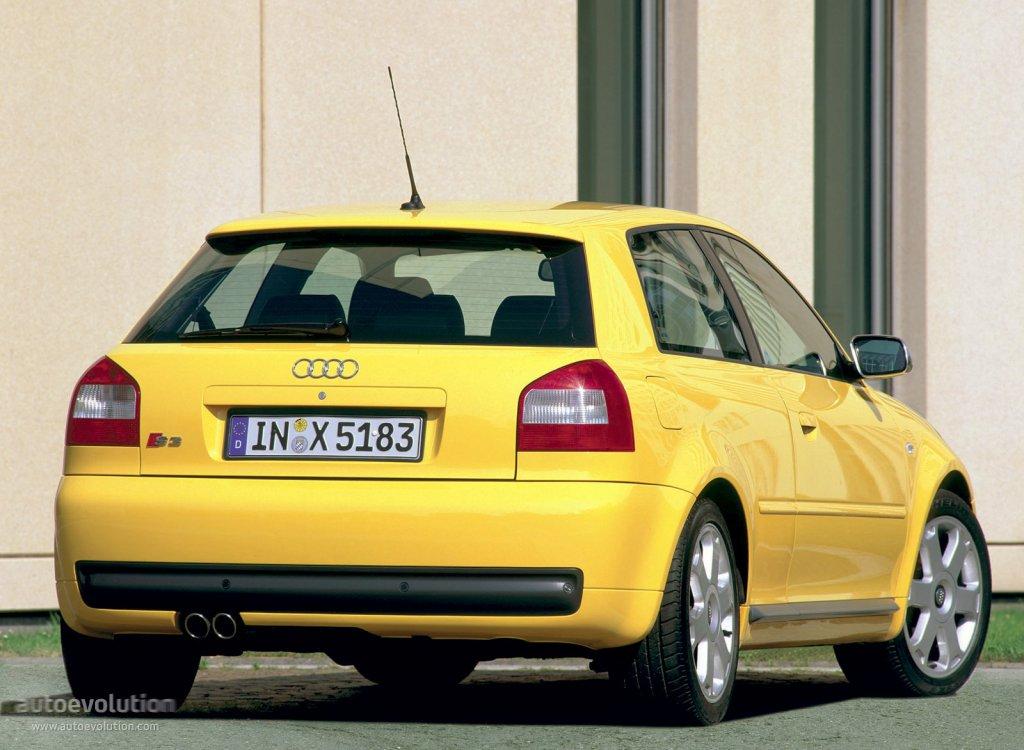 Audi S3 Specs 2001 2002 2003 Autoevolution