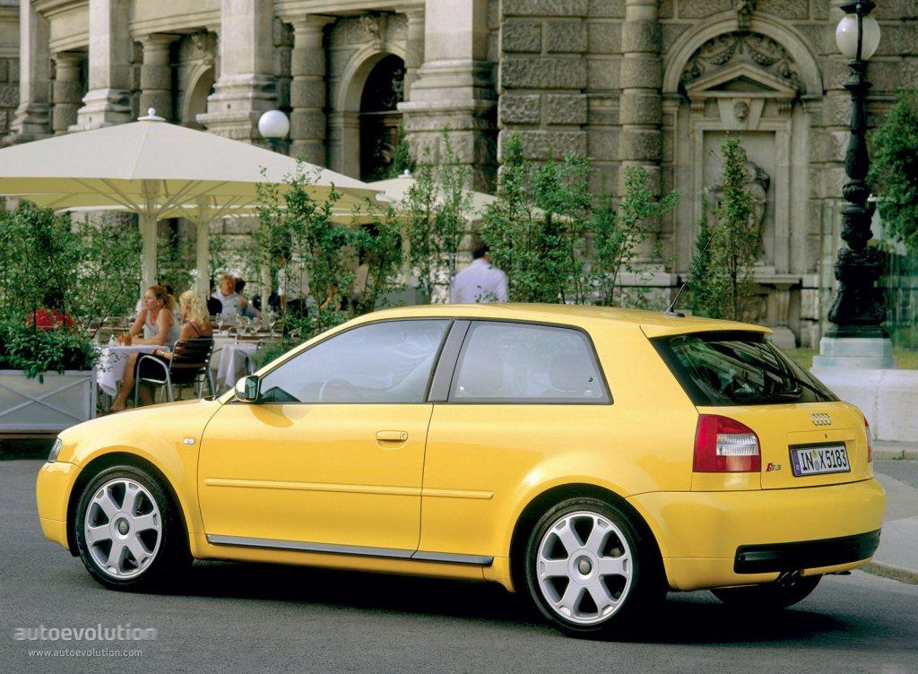 Audi S3 8L >> AUDI S3 specs & photos - 2001, 2002, 2003 - autoevolution