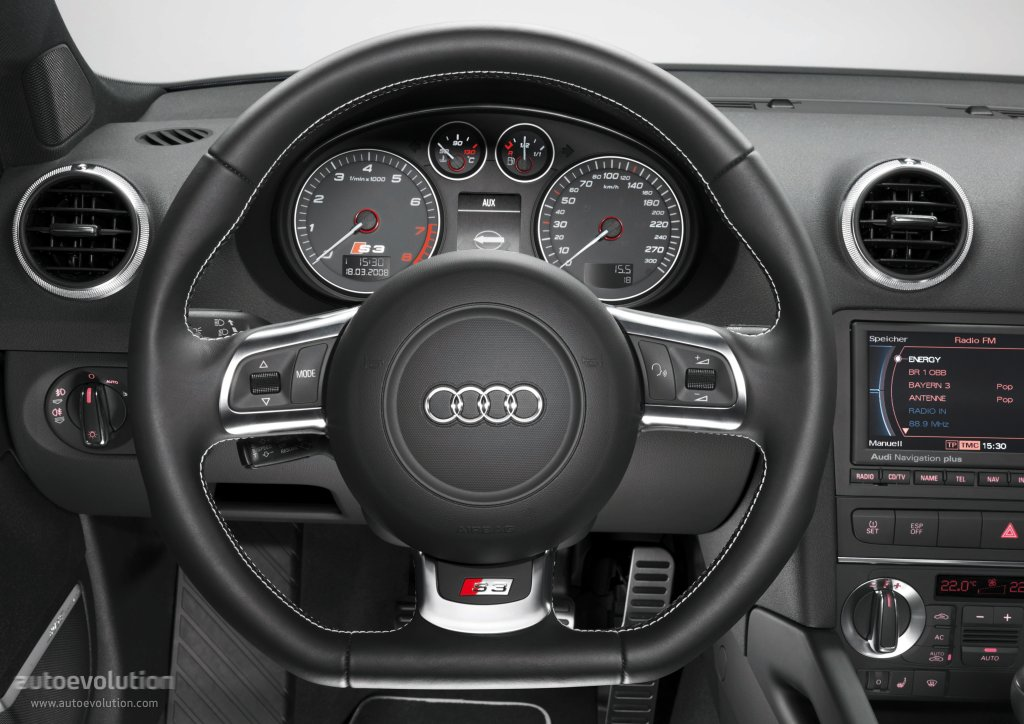 Audi s3 sportback specs 2008 2009 2010 2011 2012 for Interieur voiture