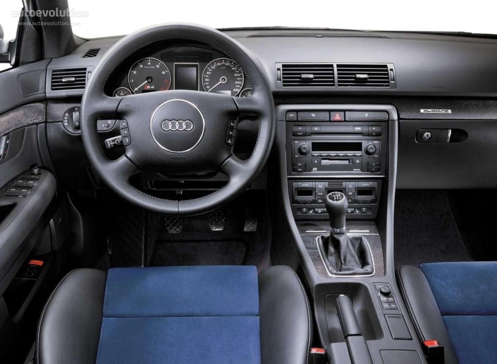 AUDI S4 specs - 2003, 2004 - autoevolution