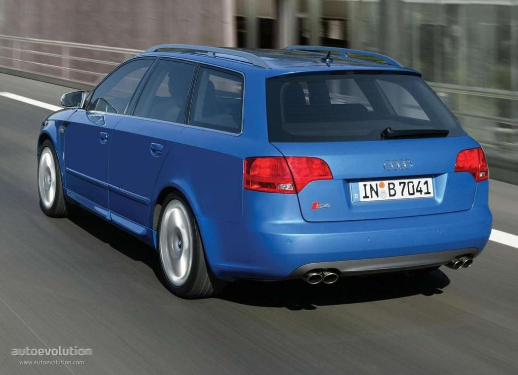 AUDI S4 Avant - 2006, 2007 - autoevolution