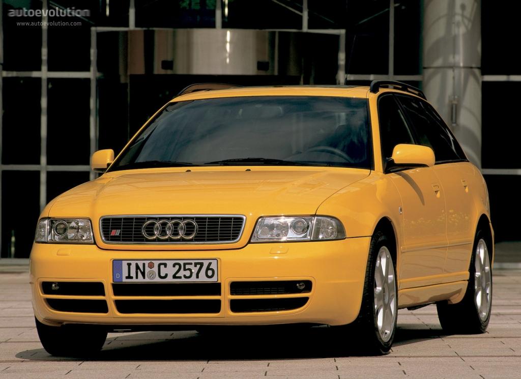 AUDI S4 Avant specs & photos - 1997, 1998, 1999, 2000, 2001 - autoevolution