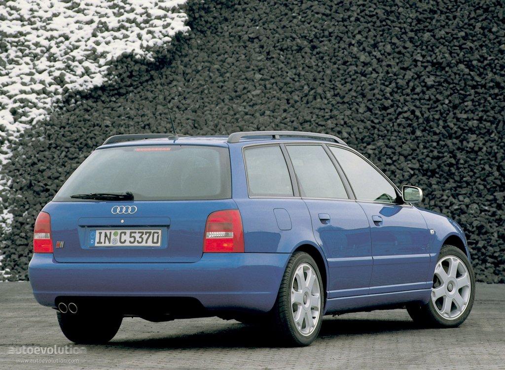 Audi S4 Avant Specs 1997 1998 1999 2000 2001