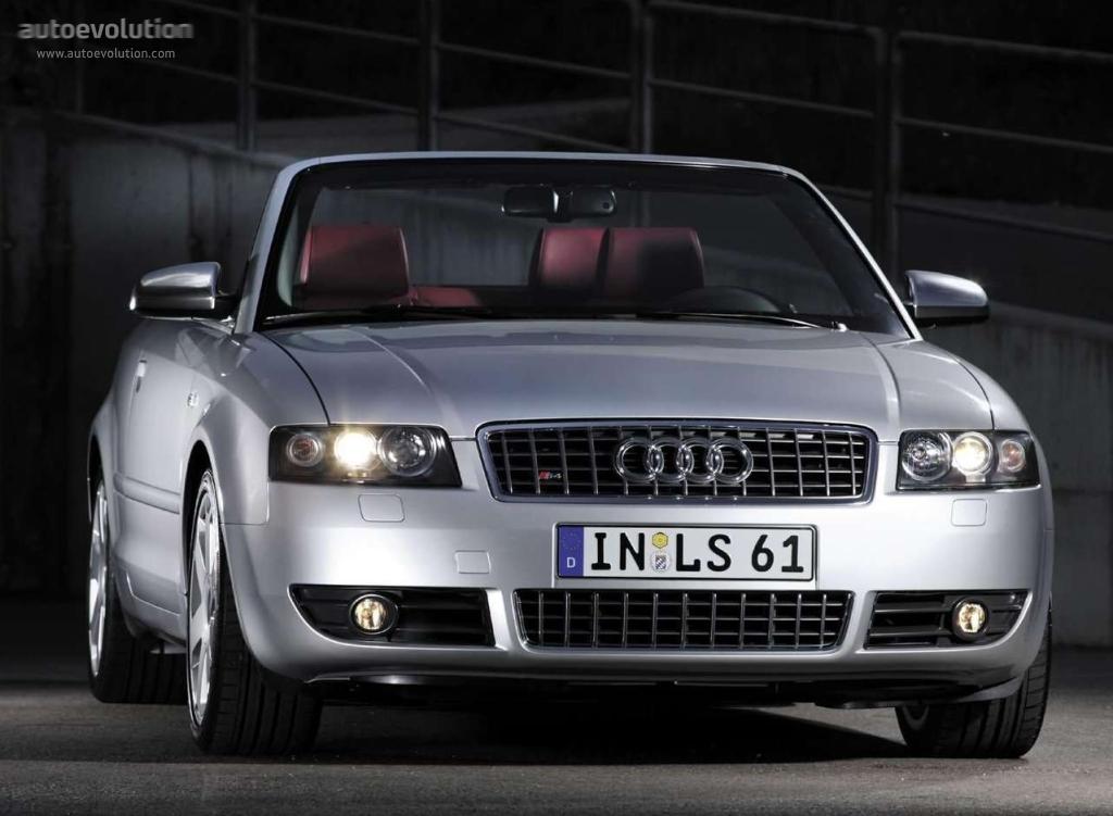 Audi S4 Cabriolet Specs 2003 2004 2005 Autoevolution