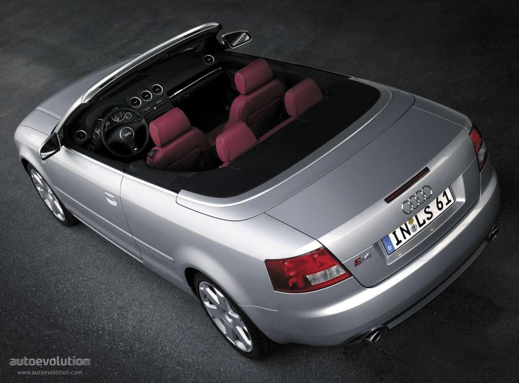 AUDI S4 Cabriolet specs & photos - 2003, 2004, 2005 ...