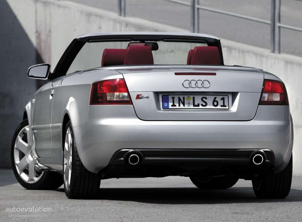audi s4 cabriolet specs photos 2003 2004 2005 autoevolution. Black Bedroom Furniture Sets. Home Design Ideas
