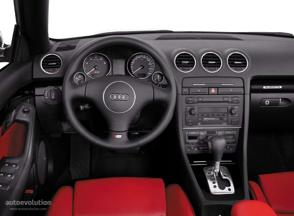 AUDI S4 Cabriolet specs & photos - 2003, 2004, 2005 - autoevolution