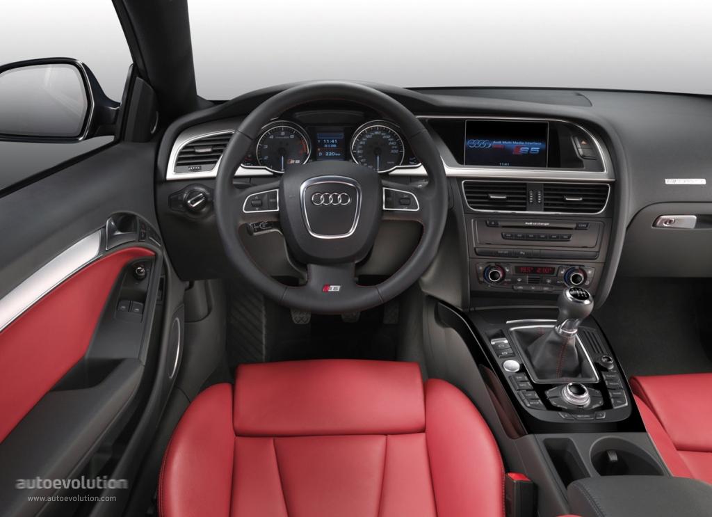 Audi S5 2007 2008 2009 2010 2011 2012 Autoevolution