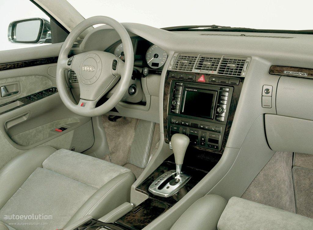 AUDI S8 specs - 1999, 2000, 2001, 2002, 2003 - autoevolution