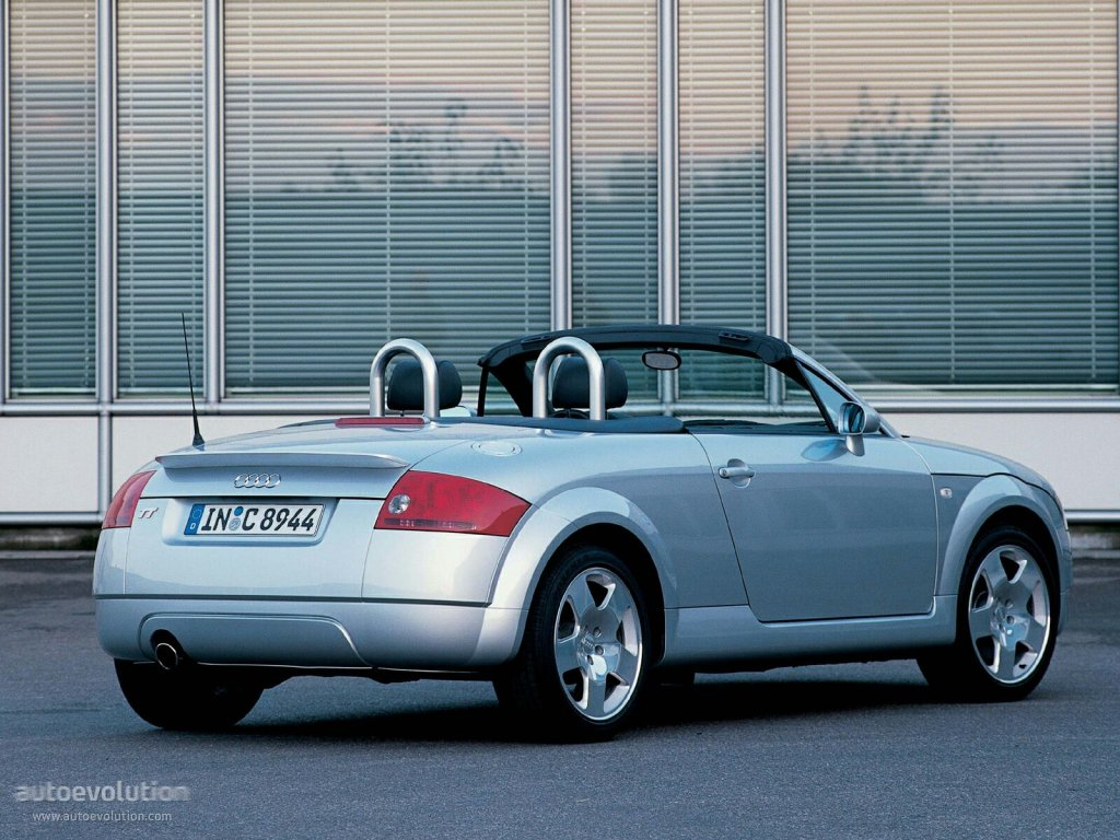 audi tt roadster 1999 2000 2001 2002 2003 2004 2005 2006 autoevolution. Black Bedroom Furniture Sets. Home Design Ideas