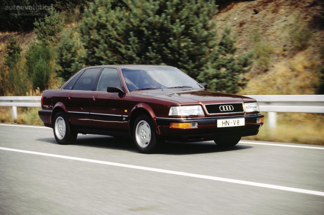 Luxury Car For Sale >> AUDI V8 specs & photos - 1988, 1989, 1990, 1991, 1992, 1993, 1994 - autoevolution