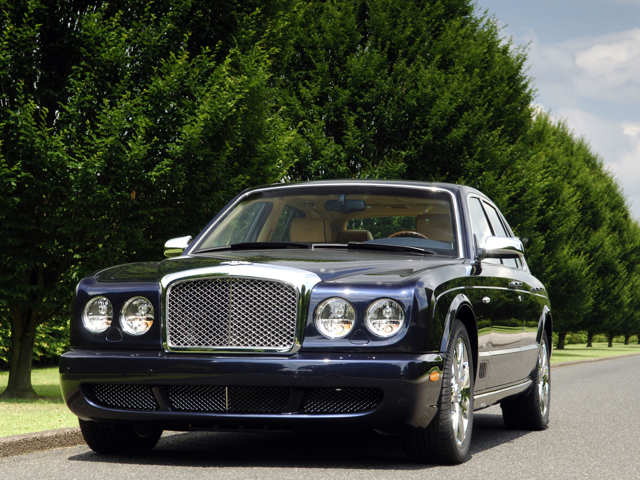 Bentley arnage blue train series specs 2005 2006 2007 2008 bentley arnage blue train series 2005 2009 vanachro Images