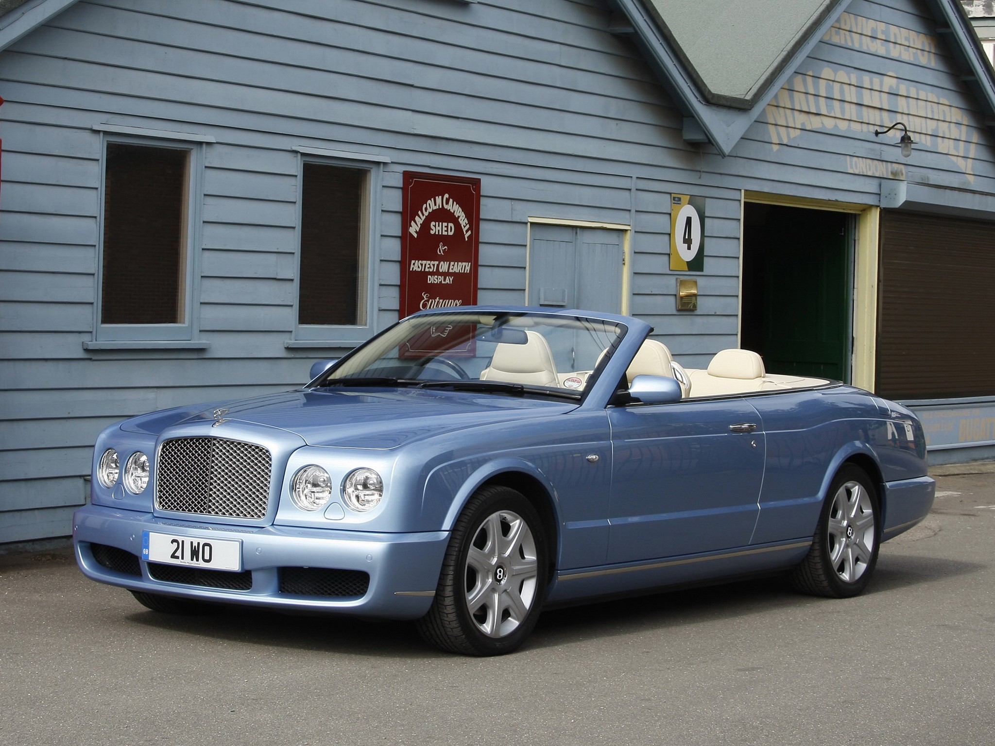 BENTLEY Azure Specs 2006 2007 2008 2009 Autoevolution