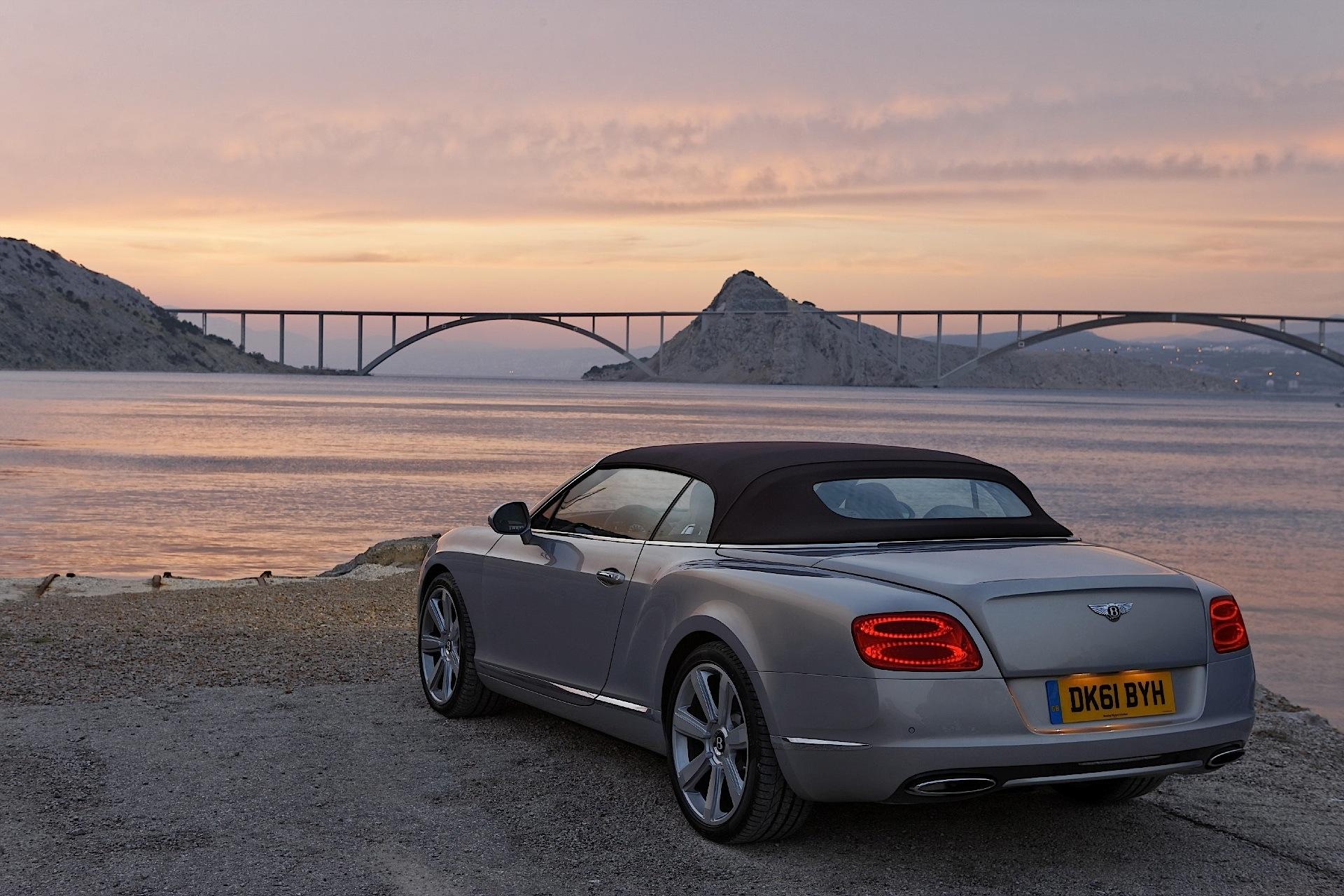 Bentley Continental Gtc 2011 2012 2013 Autoevolution