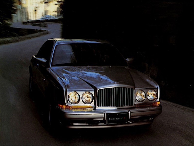 Bentley Continental R on 1995 Bentley Continental Gt