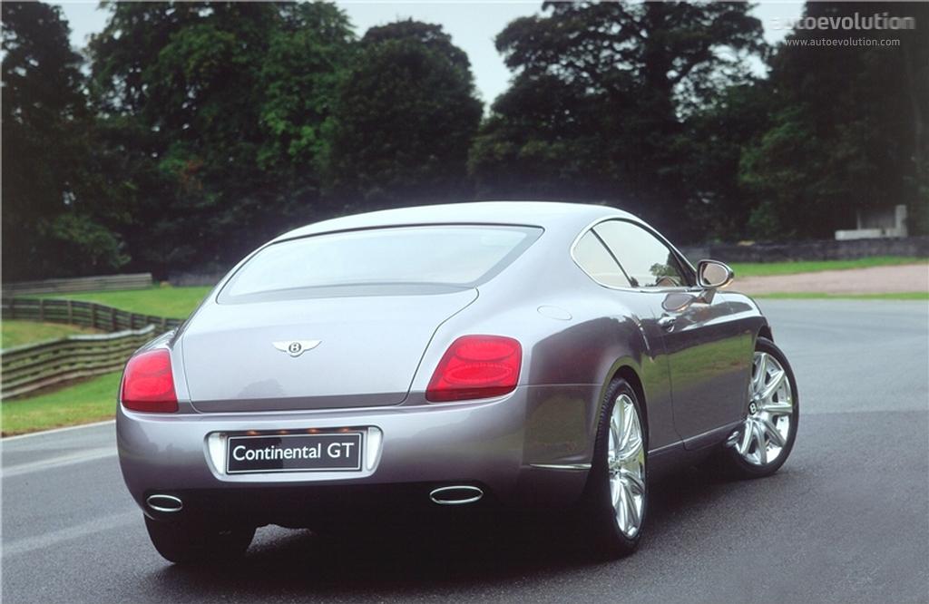 2006 bentley continental gt specs