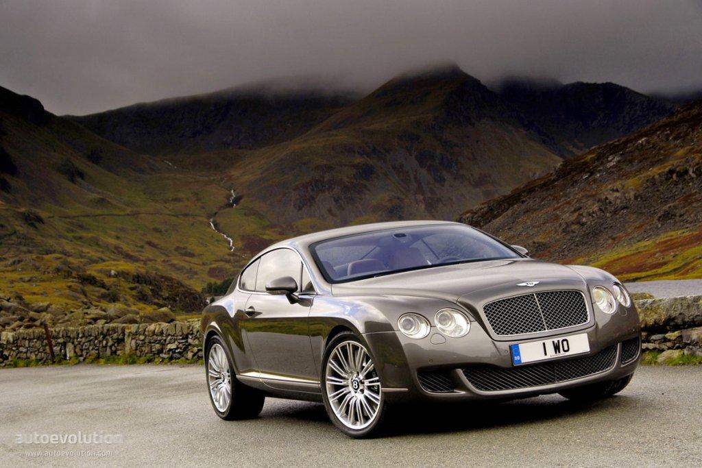BENTLEY Continental GT Speed specs  2007 2008 2009 2010 2011