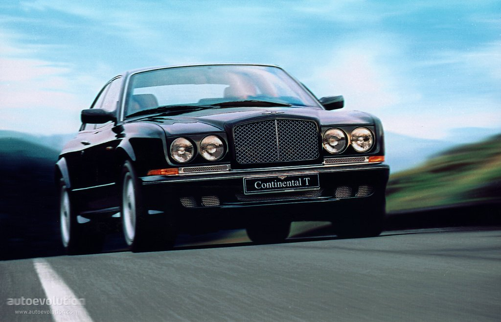 Bentley Continental T Specs Amp Photos 1996 1997 1998