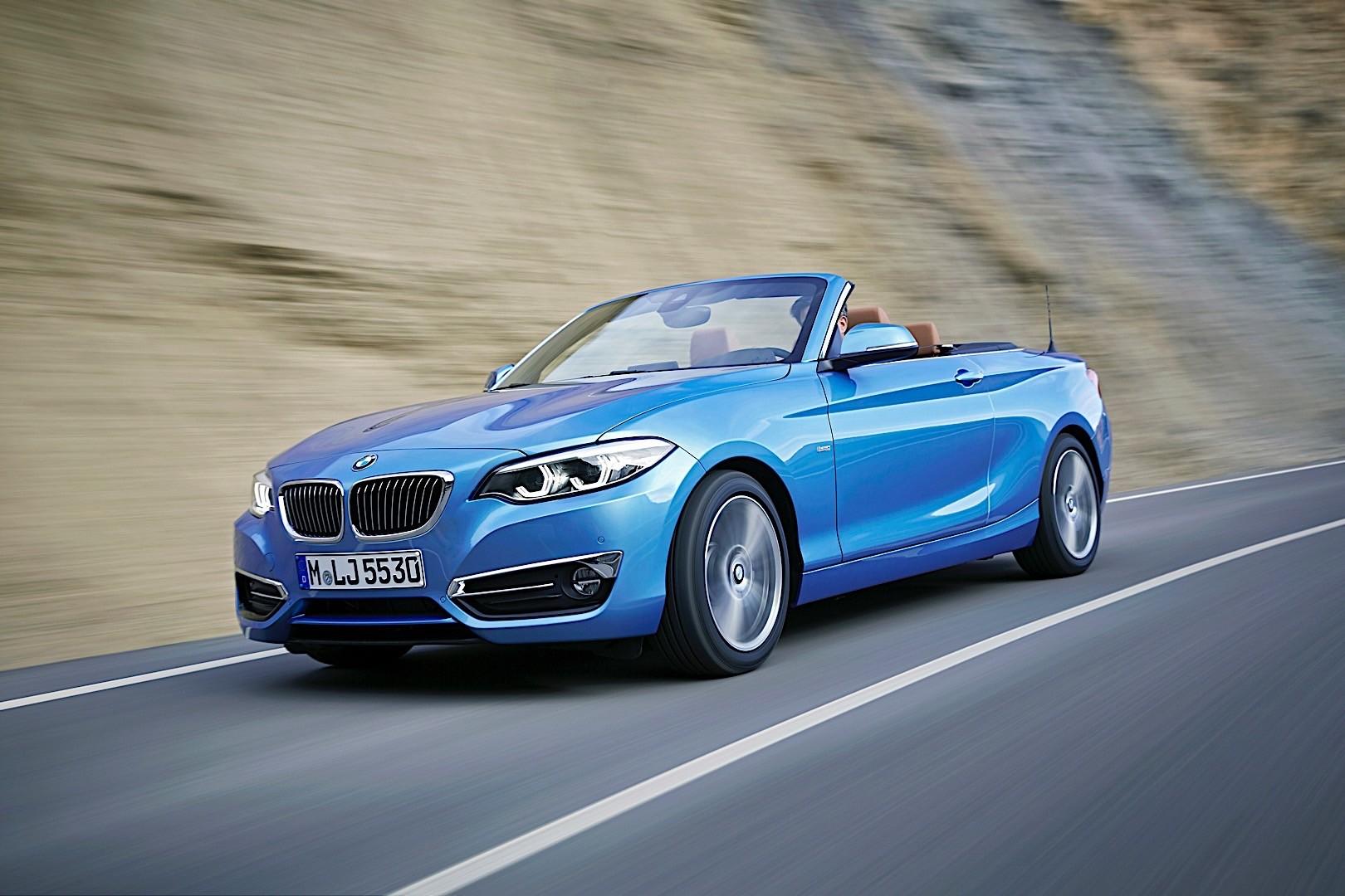 BMW 2 Series Convertible (F23) LCI specs & photos - 2017 ...
