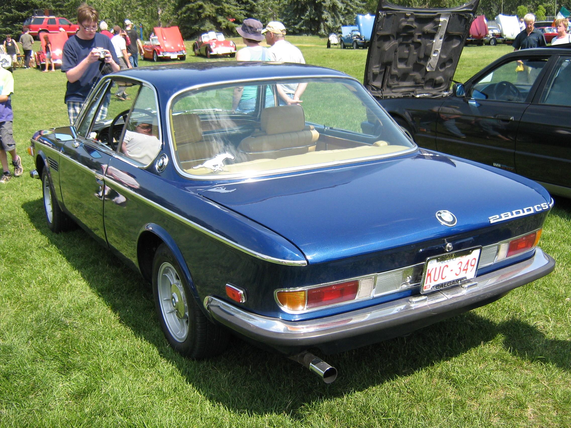 Bmw 2800 Cs E9 Specs 1968 1969 1970 1971