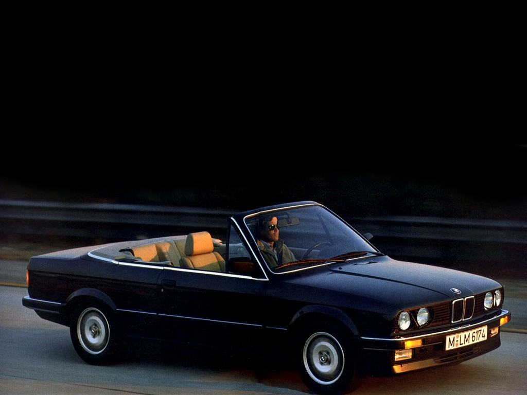 bmw 3 series cabriolet e30 1986 1987 1988 1989. Black Bedroom Furniture Sets. Home Design Ideas