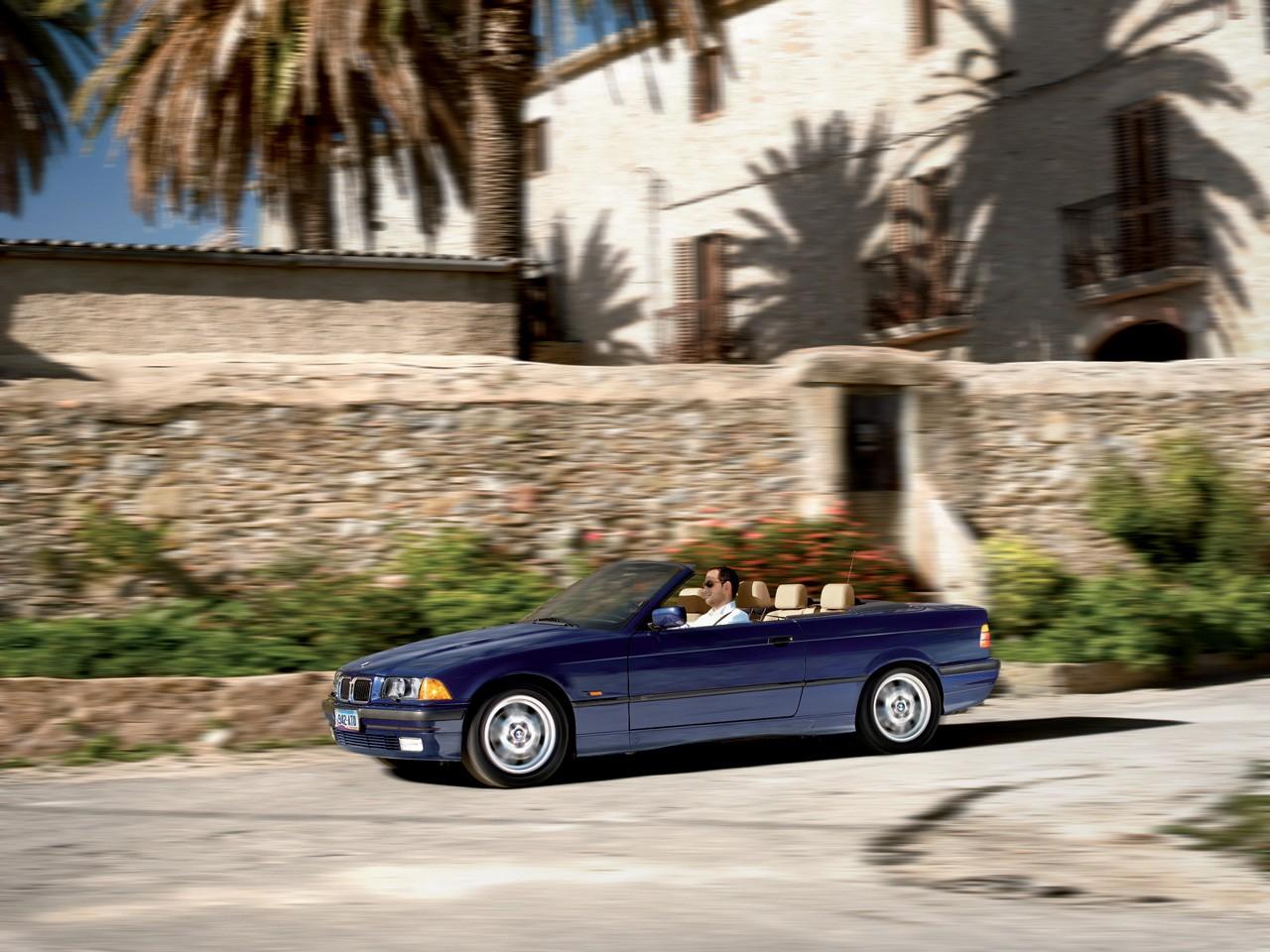 BMW 3 Series Cabriolet (E36) specs & photos - 1993, 1994 ...