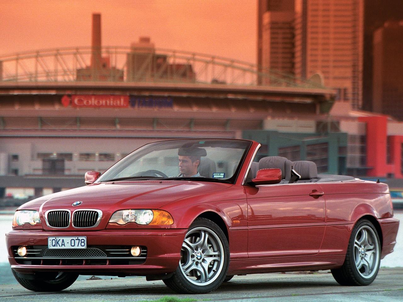 BMW 3 Series Cabriolet (E46) specs & photos - 2000, 2001, 2002, 2003