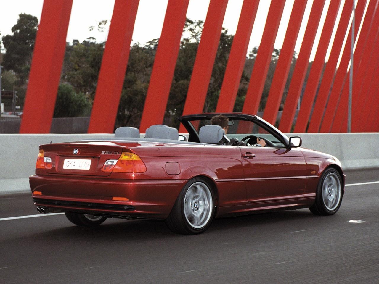 Bmw 3 Series Cabriolet E46 2000 2001 2002 2003