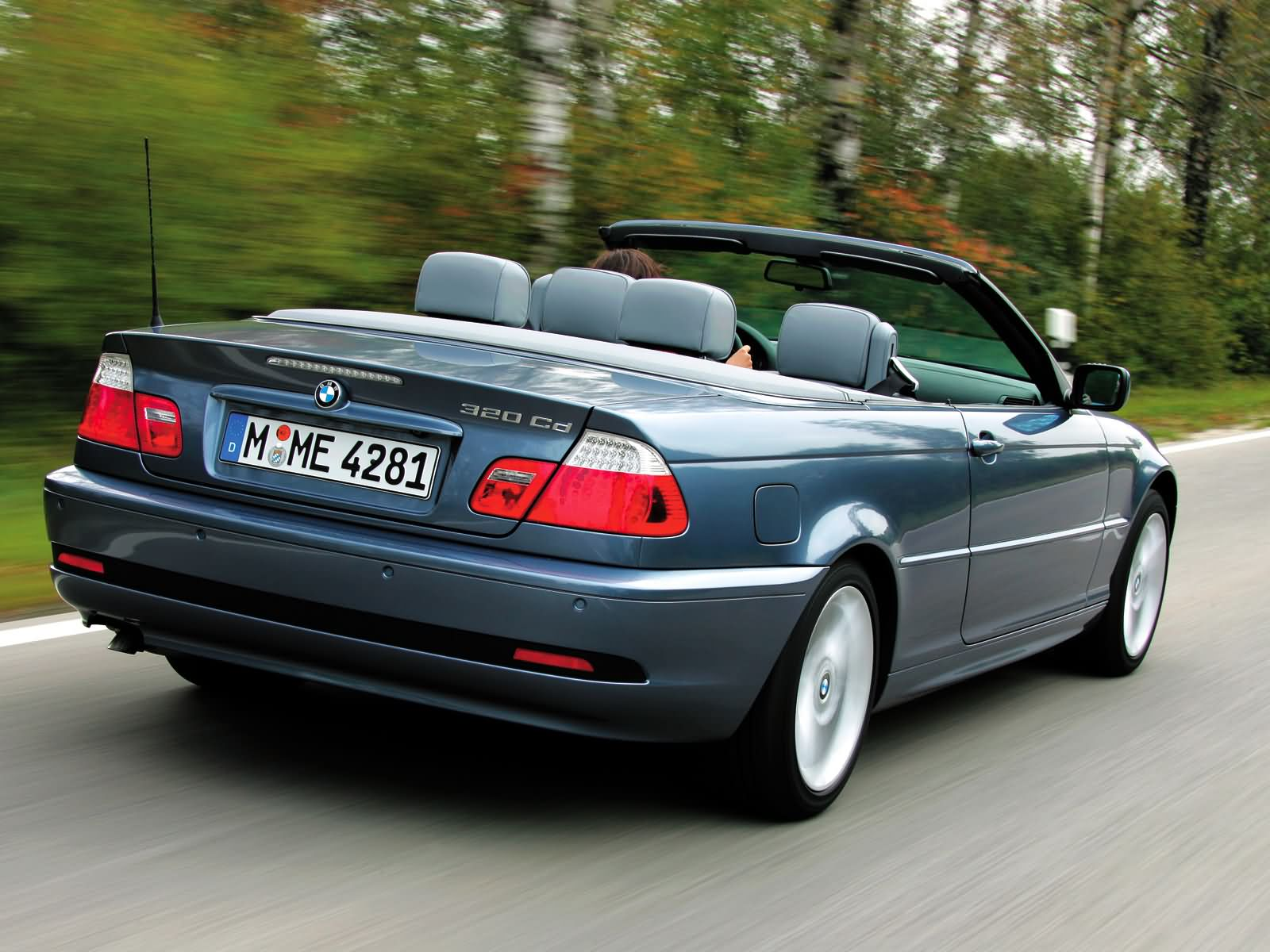 Bmw 3 Series Cabriolet E46 2003 2004 2005 2006
