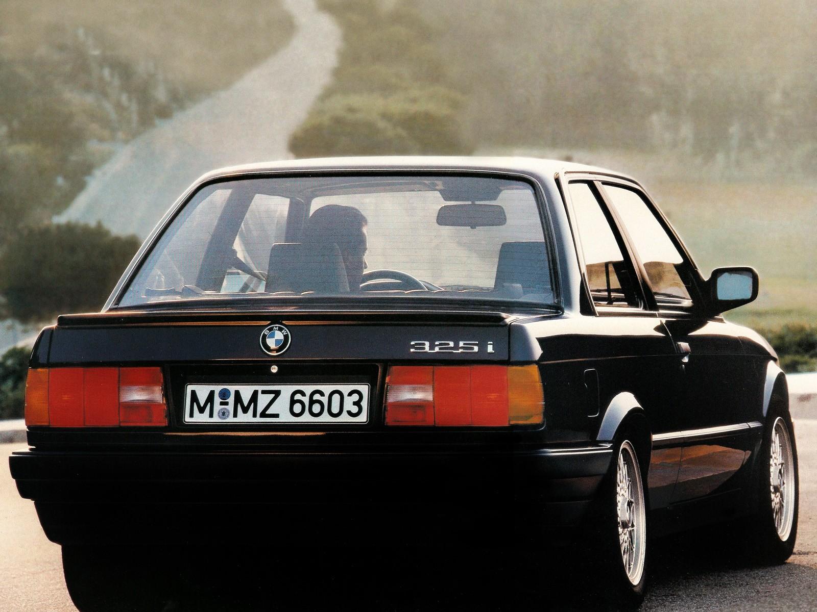 BMW 3 Series Coupe E30 specs  1982 1983 1984 1985 1986
