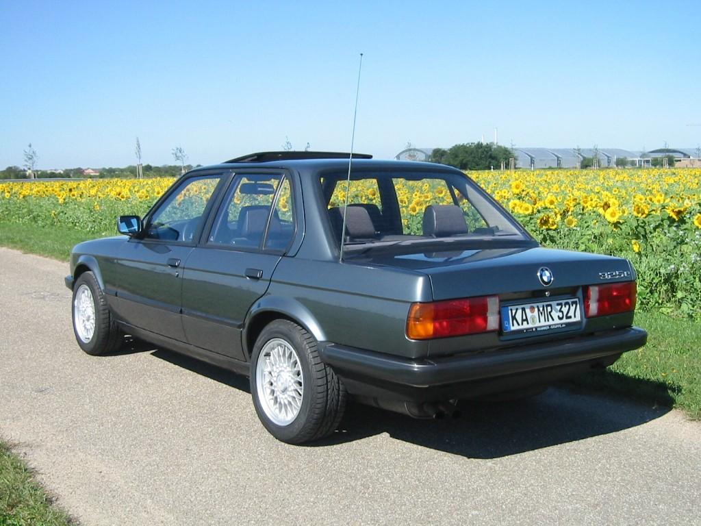 1985 Bmw 325e >> BMW 3 Series Sedan (E30) - 1982, 1983, 1984, 1985, 1986