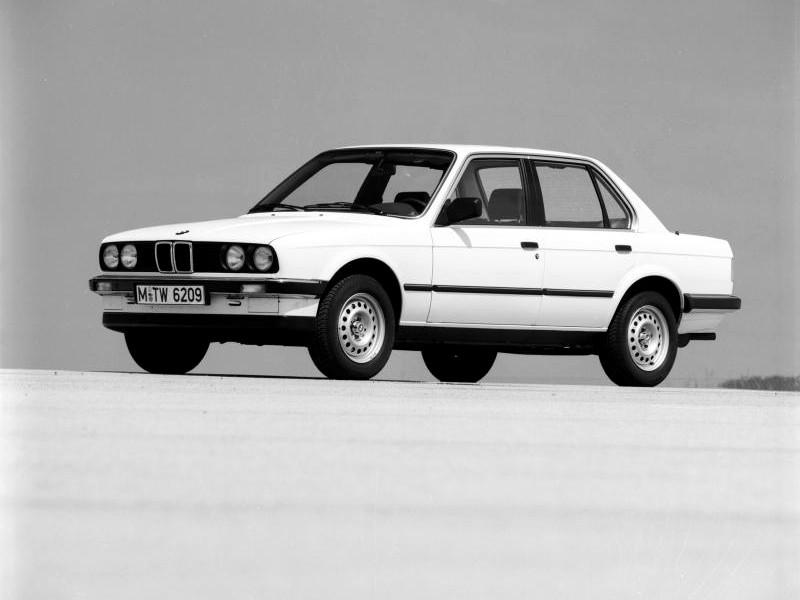 Bmw 3 Series Sedan E30 Specs 1982 1983 1984 1985