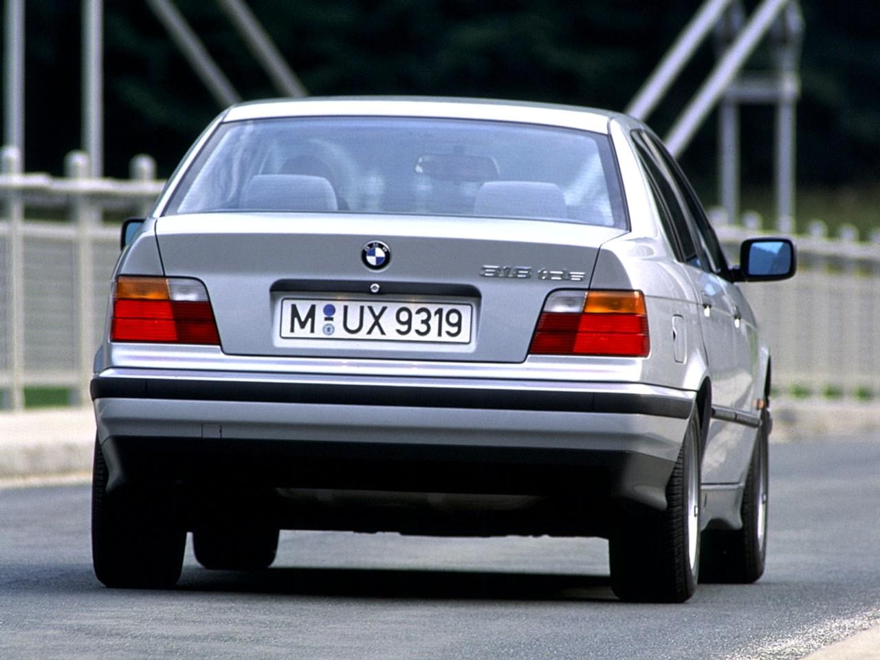BMW 3 Series Sedan (E36) specs - 1991, 1992, 1993, 1994, 1995, 1996 ...