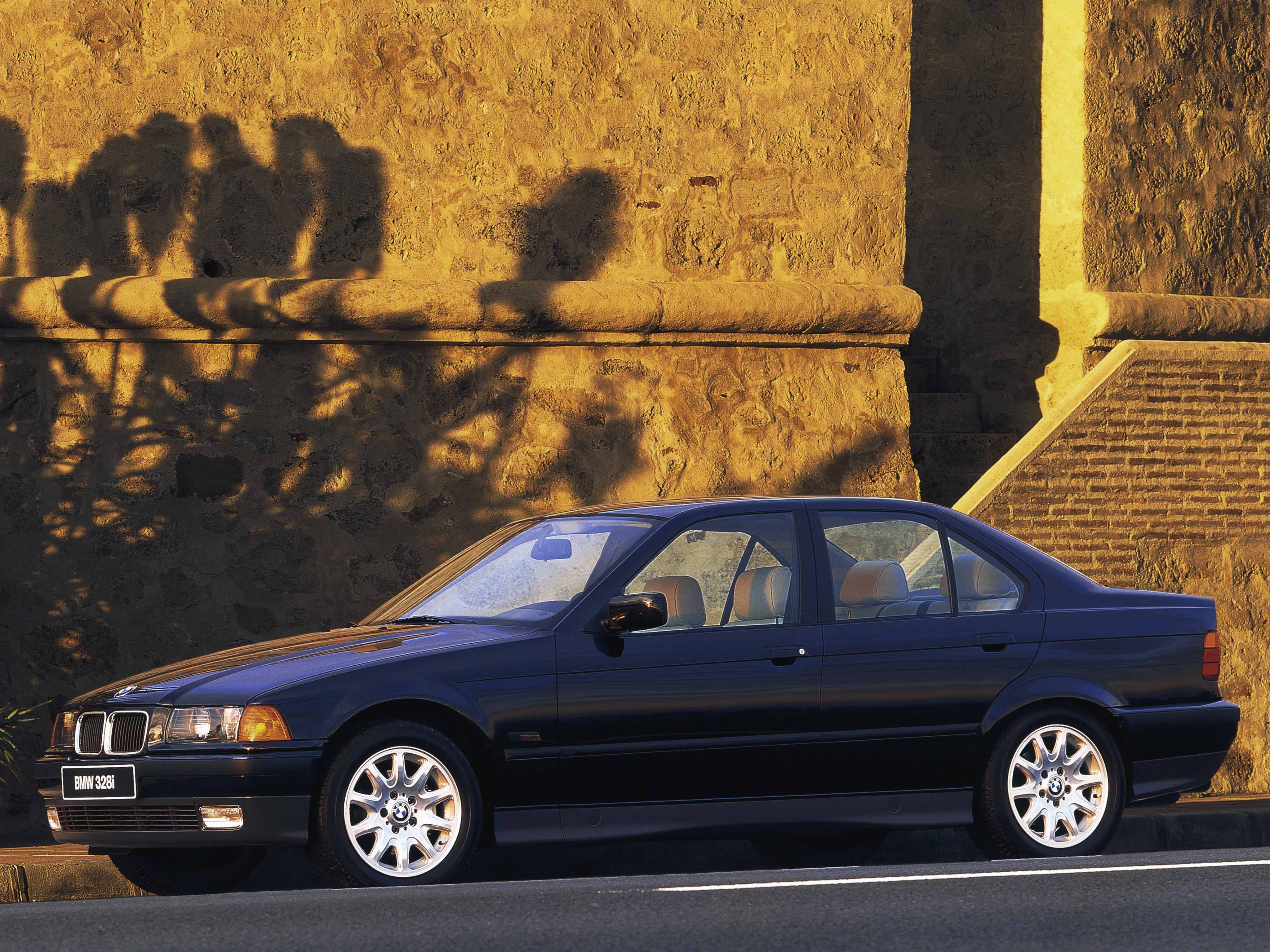 BMW 3 Series Sedan (E36) - 1991, 1992, 1993, 1994, 1995 ...