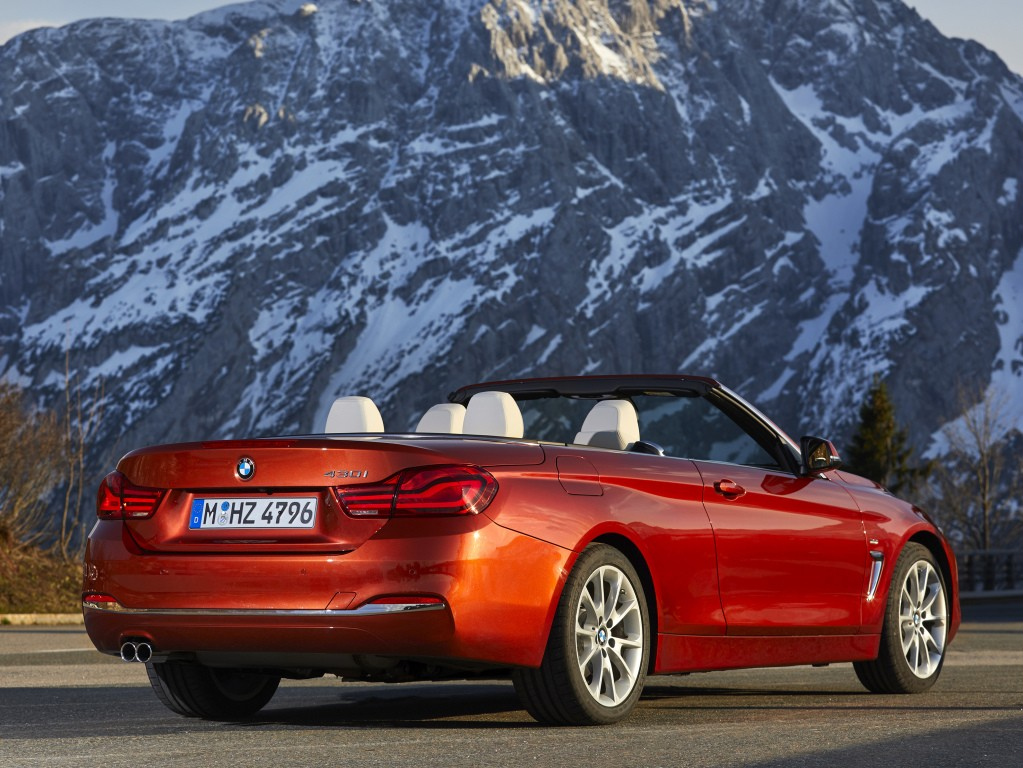 Bmw 4 Series Cabrio Specs Amp Photos 2018 2019