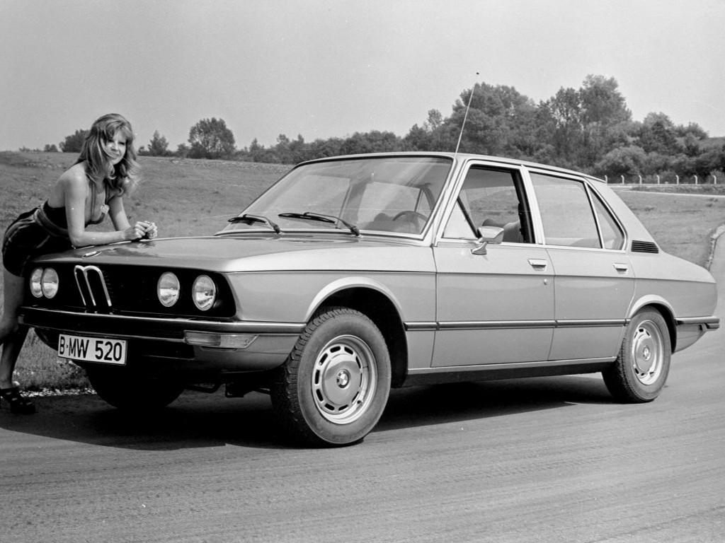 BMW 5 Series (E12) specs & photos - 1972, 1973, 1974, 1975 ...
