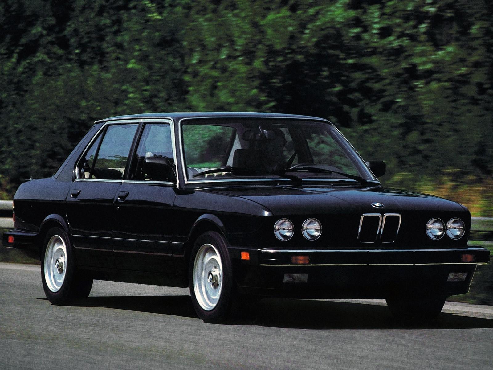 bmw 5 series e28 1981 1988