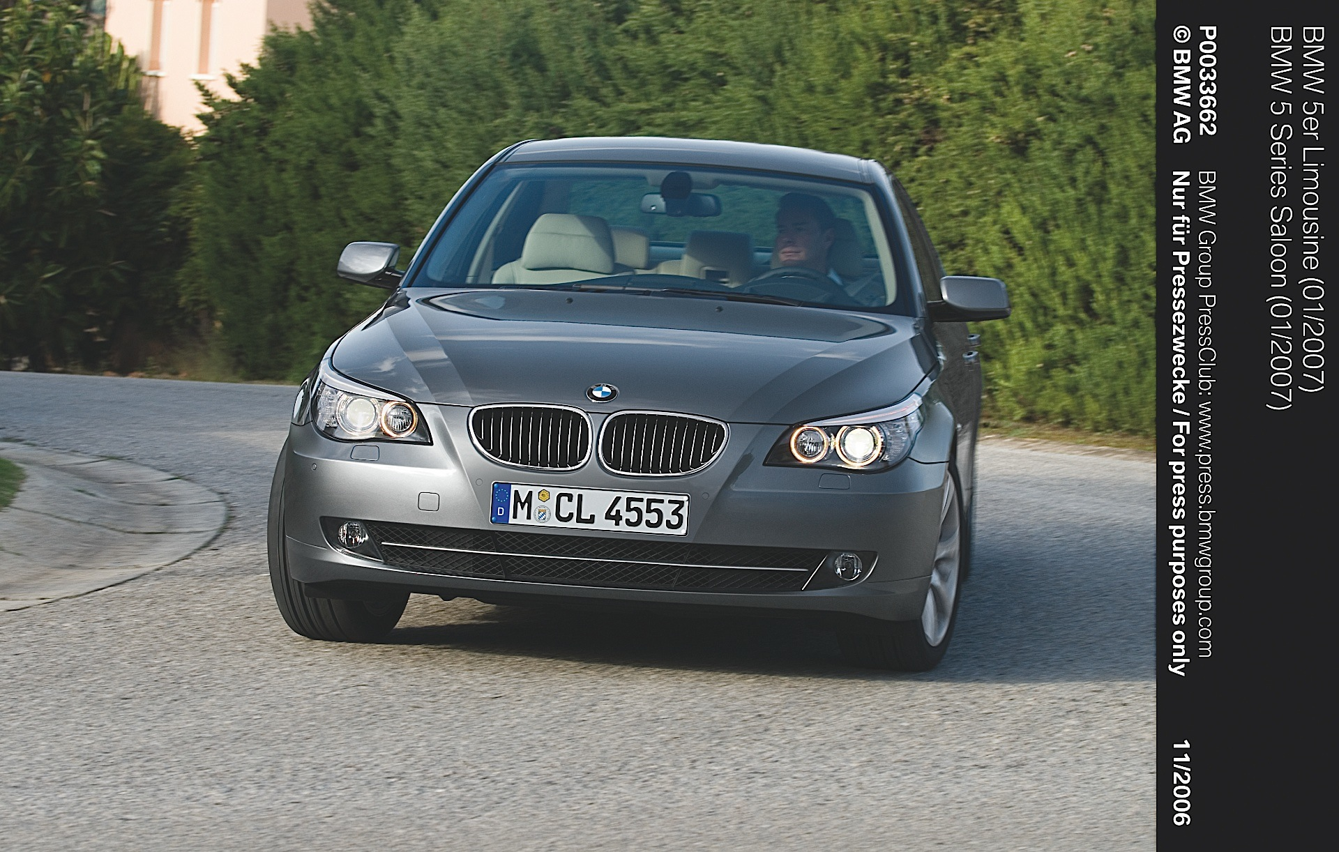 bmw 5 series e60 2007 2009